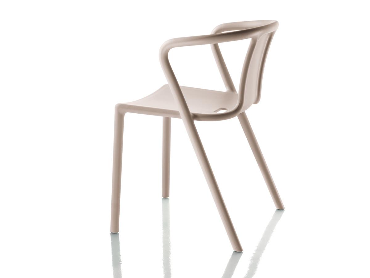 Black stacking chairs - Air Armchair Set 4 Pcs Magis Jasper Morrison Owo Online Design