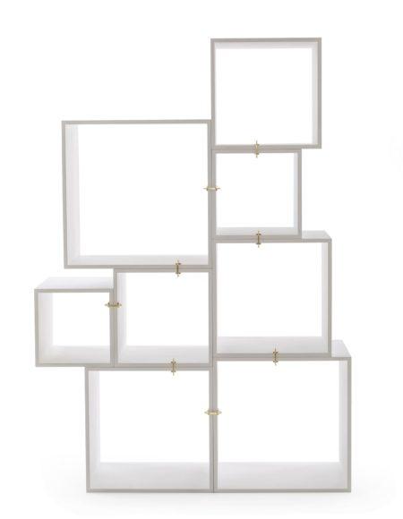 Bookcase Assemblage Seletti White