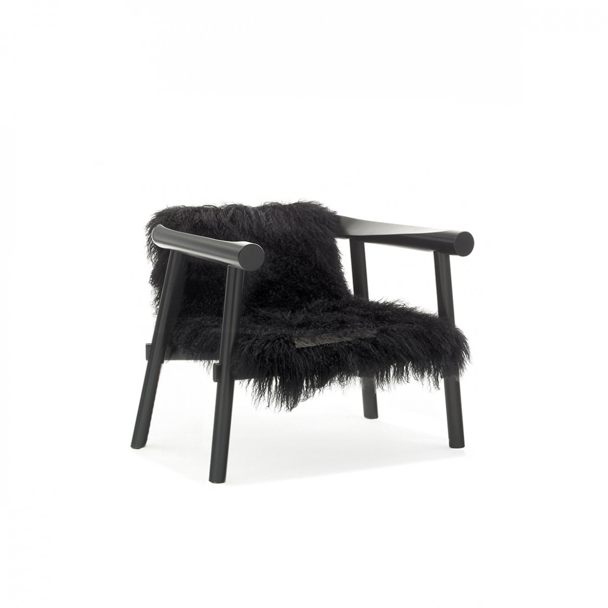 altay armchair coedition in black