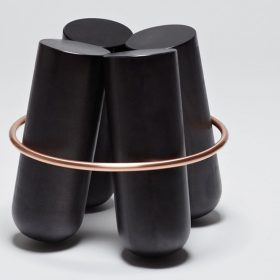 bolt-stool Stool.  . La Chance