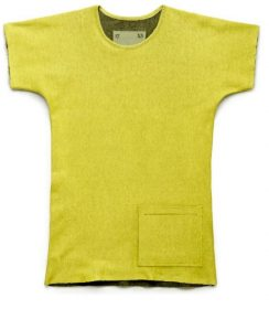 t-shirt-rev-pkt-melange-adidas-tom-dixon T-Shirt, Adidas by Tom Dixon, TSHIRT REVERSIBLE PKT YELLOW, SS 2014. . Adidas by tom dixon