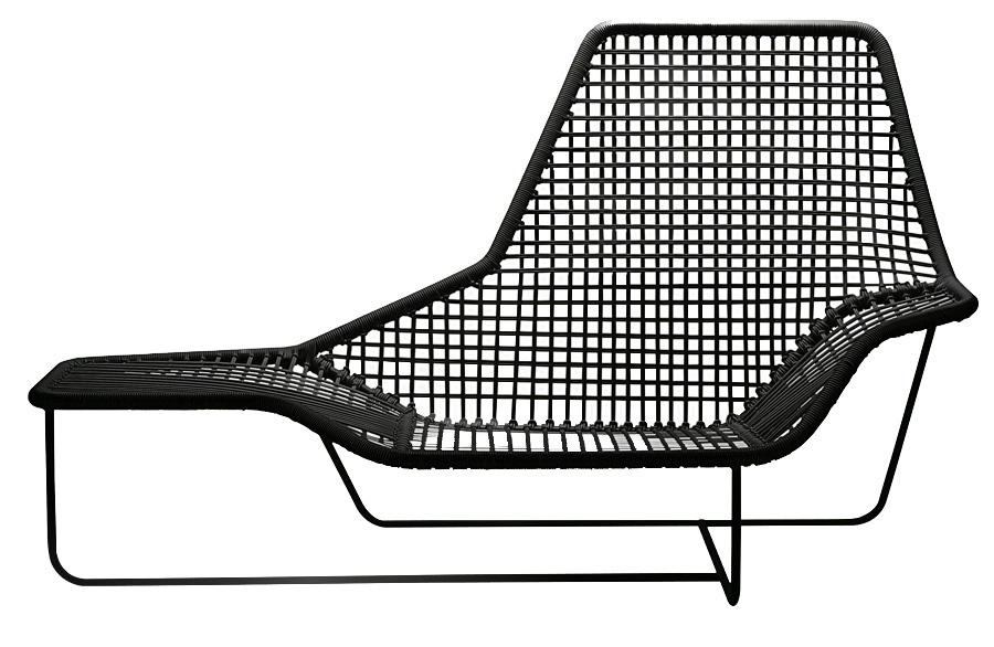 Zanotta chaise longue lama outdoor ludovica roberto for Chaise longue design jardin