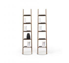 mogg-allascala Bookcase, Mogg, ALLA SCALA BOOKCASE, Claudio Bitetti, 2014 Floor lamp - bookcase in made in  solid wood.  . Mogg