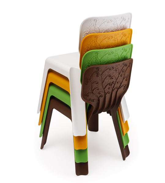 Magis Me Too, ALMA CHAIR (set 4 Pcs) , Javier Mariscal | Owo Online Design  Store