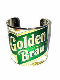 bracciale-can-golden-brau Bracelet, Carmina Campus, ONCE I WAS CAN BRACELET - GOLDEN BRAU , Ilaria Venturini Fendi, 2014.   . Carmina Campus