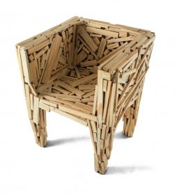 favela-chair-edra Armchair, Edra, FAVELA CHAIR, Fernando and Umberto Campana, 2003.  . Edra