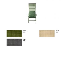 cushion-poltrona-gardenia-outdoor Cushion for Gardenia Armchair Outdoor: available in grey, green and white.. BD Barcelona