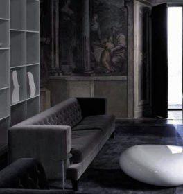 driade-hall-sofa-velvet Sofa, Driade Aleph, HALL, Rodolfo Dordoni, 2005.  . Driade