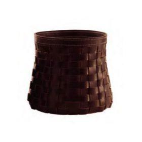 arte-e-cuoio-intrecci-round-basket Round basket, Arte & Cuoio, INTRECCI, Enrico Tonucci.  . Arte & Cuoio