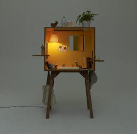 koloro-desk Writing desk, Ichiro, KOLORO DESK, Torafu Architects, 2012.. Ichiro