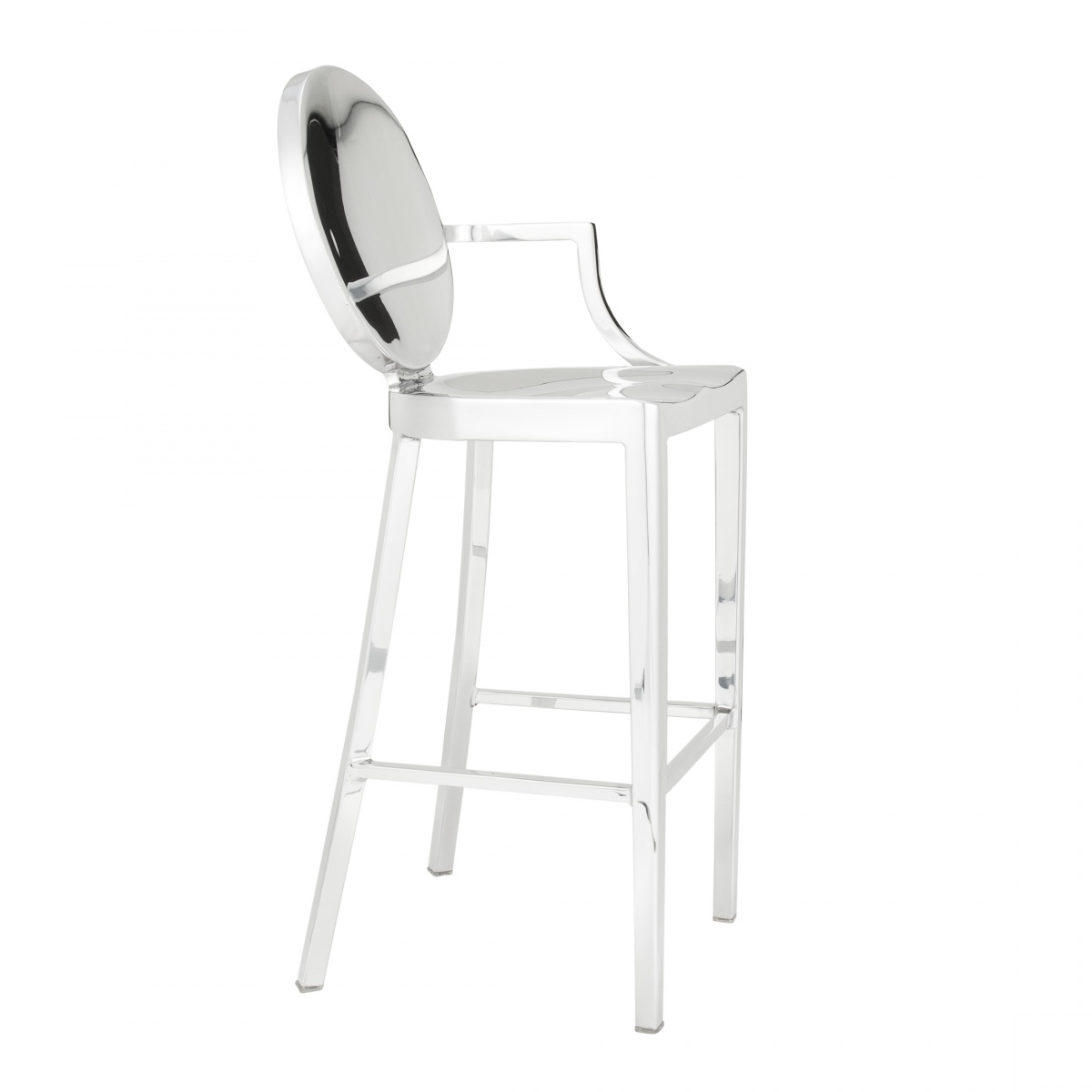 Emeco Kong Barstool With Arms Philippe Starck Owo