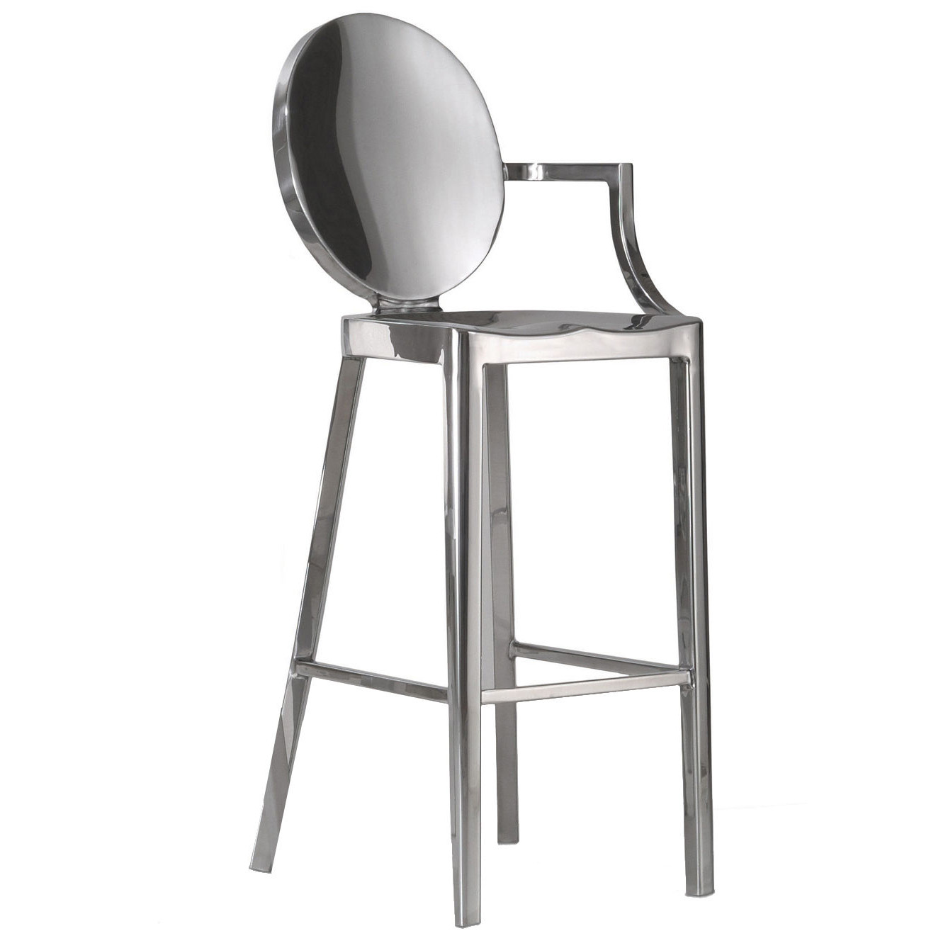 Kong barstool with arms emeco philippe starck owo online design store - Tabouret philippe starck ...