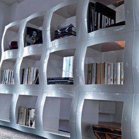 magis-boogie-woogie-bookcase Modular Bookshel, Magis, BOOGIE WOOGIE, Stefano Giovannoni, 2004.  . Magis