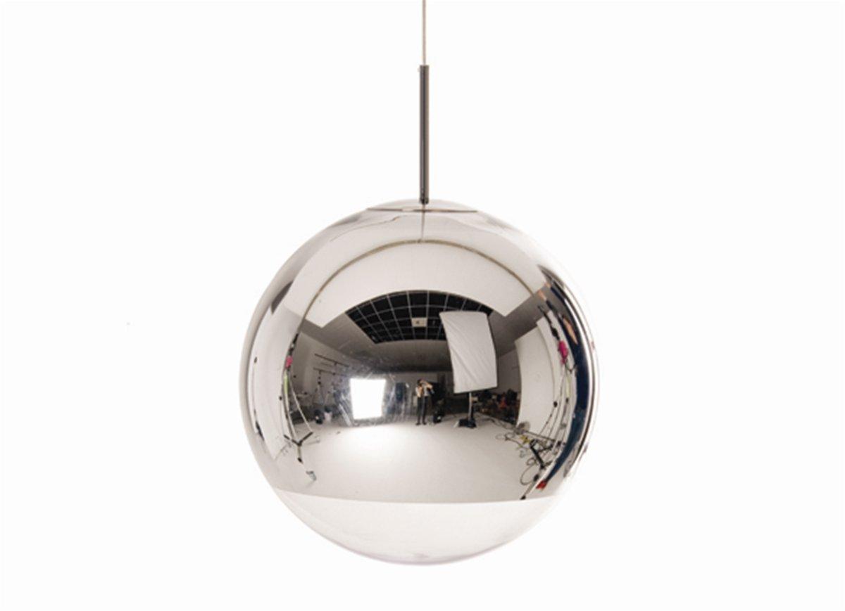 mirror ball suspension lamp tom dixon tom dixon owo. Black Bedroom Furniture Sets. Home Design Ideas