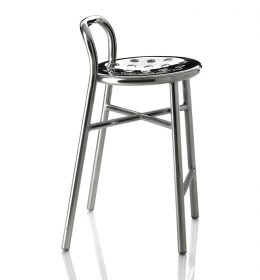 pipe-stool-magis-polished Stool, Magis, PIPE STOOL POLISHED, Jasper Morrison, 2009.  . Magis