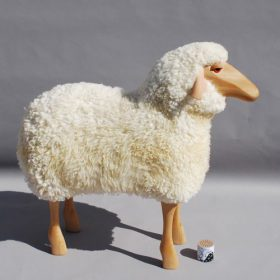 sheep-hanns-peter-kraff Stool, Owo, SHEEP, Hamms-Peter Kraff.  . Owo