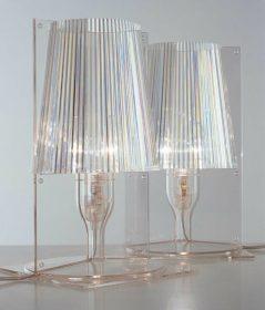 kartell-take Table lamp, Kartell, TAKE, Ferruccio Laviani Table lamp in transparent polycarbonate.   . Kartell