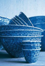 the-white-snow-agadir-bowl Bowls, Driade, THE WHITE SNOW AGADIR Bowls, Antonia Astori with Paola Novone, 1997.. Driade