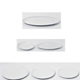 tws-servingplates-driade Serving porcelain, DriadeKosmo, THE WHITE SNOW, Antonia Astori,1999.  . Driade