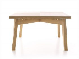 bacco-table-triangolo Extensible table, Triangolo, BACCO, Enrico Tonucci.  . Triangolo
