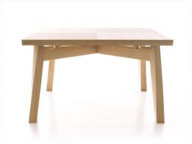 bacco-table-triangolo Extensible table, Triangolo, BACCO, Enrico Tonucci.  . Triangolo