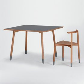 stick-table-squared-valsecchi1928 Dining table, Valsecchio 1918, STICK TABLE SQUARED, Luigi Baroli, 2011.  . Valsecchi 1918