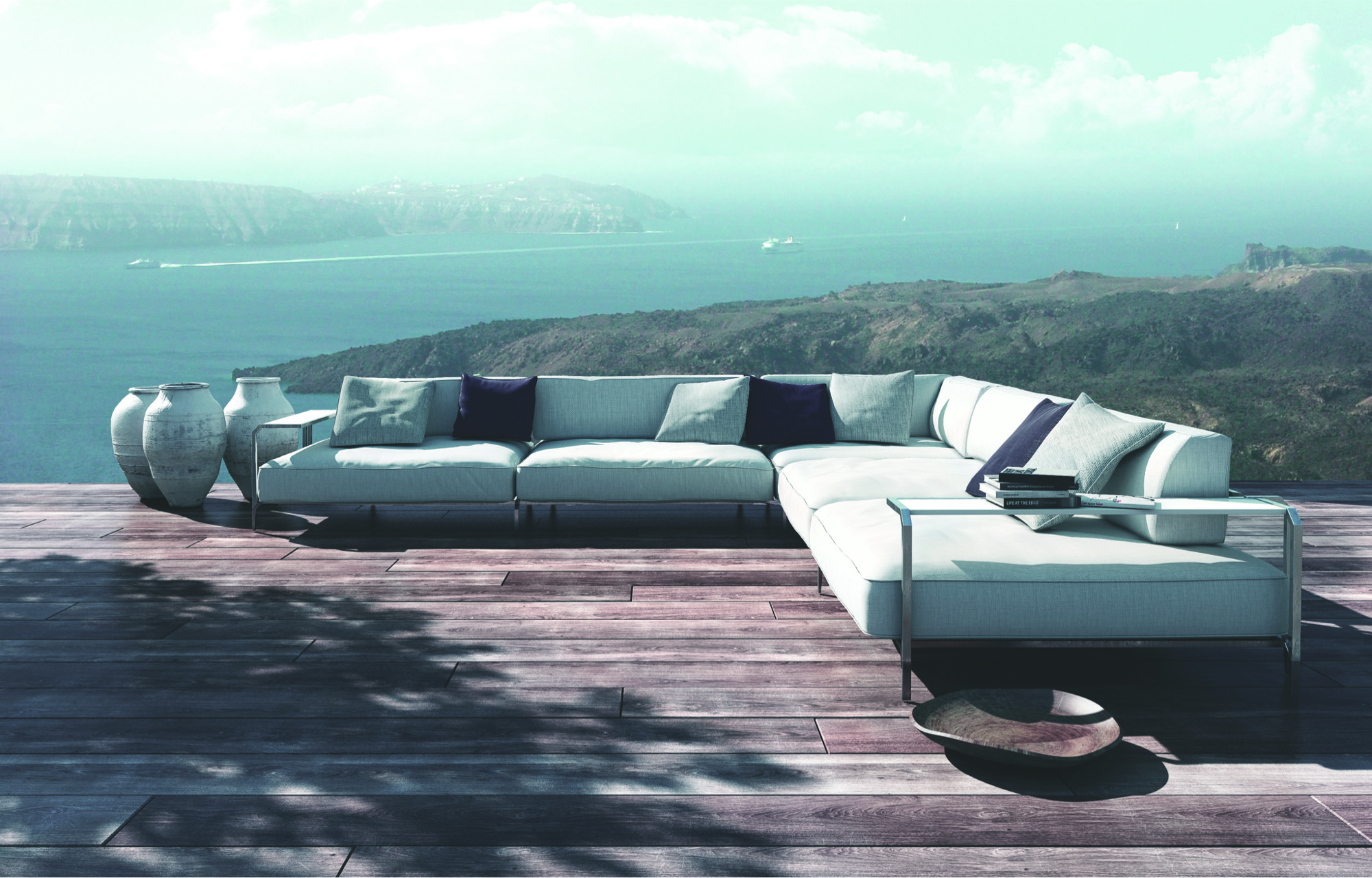Coro outdoor - Sabal Sofa