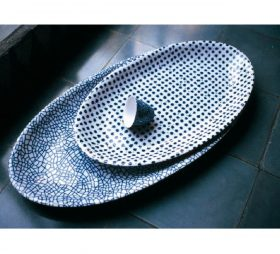the-white-snow-agadir-serving-plates Bowls, Driade, THE WHITE SNOW AGADIR Bowls, Antonia Astori with Paola Novone, 1997.. Driade